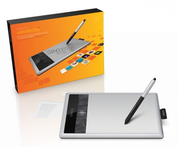 i stuff digital wacom bamboo fun pen and touch tablet small. Black Bedroom Furniture Sets. Home Design Ideas